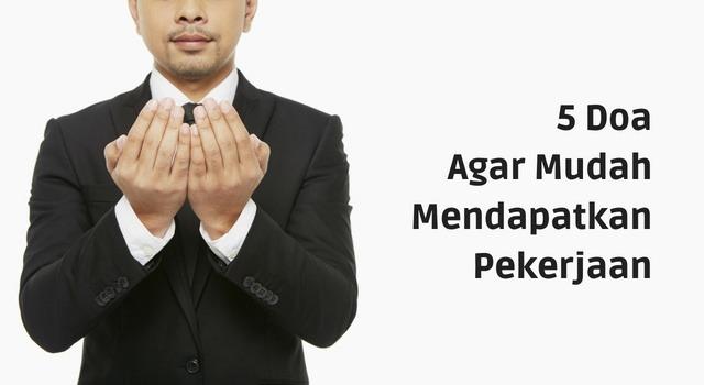 Doa Mendapat Pekerjaan