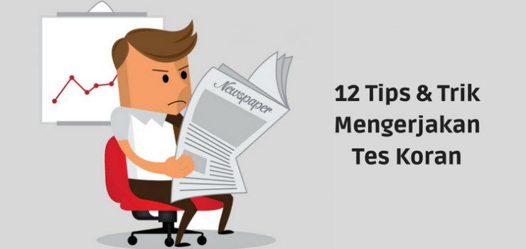 Tes Pauli [Tes Koran] : Panduan Lengkap + 12 Tips dan Trik Lulus Tes